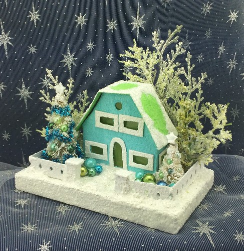 Little blue Putz house