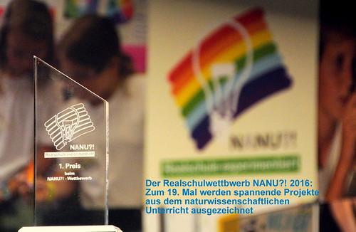 Realschulwettbewerb NANU?! | 2016 in Heidelberg