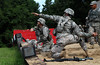 7th Regiment Basic Camp (CIET) Alpha Company Cadets Hand Grenade Assault Course Training