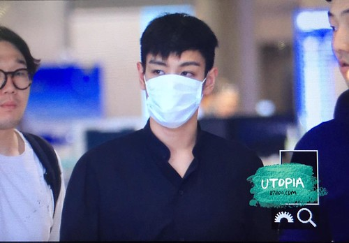 TOP - Incheon Airport - 22jun2015 - Utopia - 01