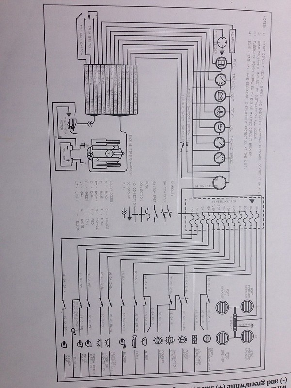 1997 2300sc Fuse Box Diagram  - Maxum Boat Owners Club