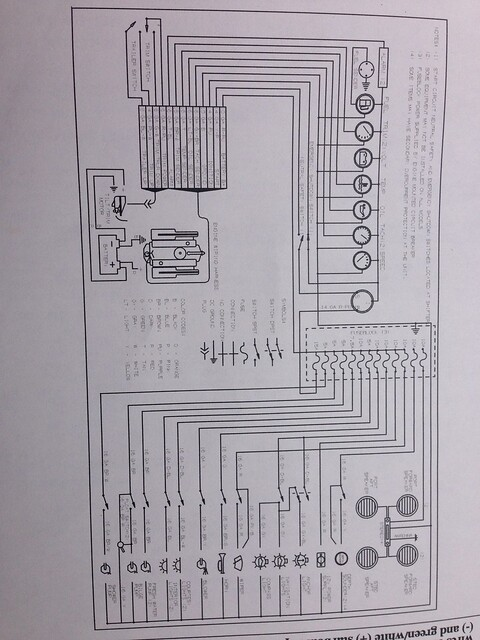 fuse panel diagram maxum boat owners club forum. Black Bedroom Furniture Sets. Home Design Ideas