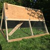 Made a chicken coop. Ho hum