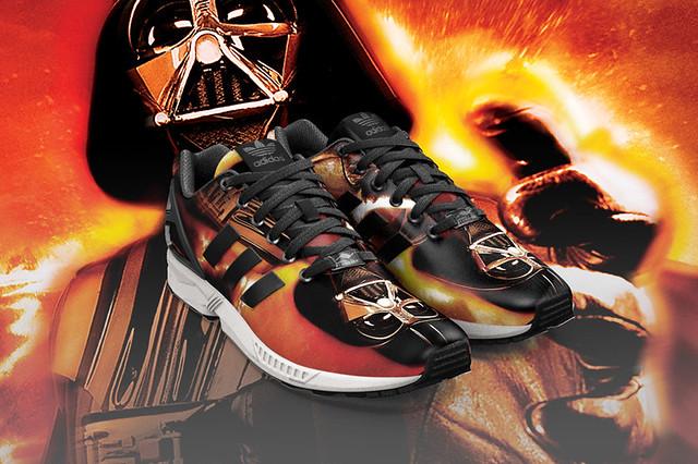 Adidas × Star Wars 【MIZXFLUX App 程式】快來創造一雙獨一無二的星際大戰鞋吧!!
