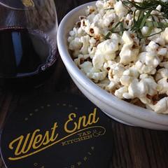 Wine & Basil Popcorn