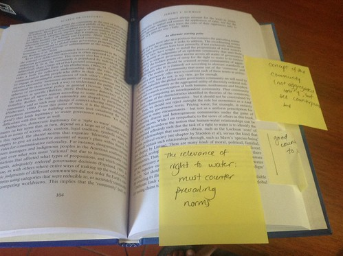 Annotating book chapters