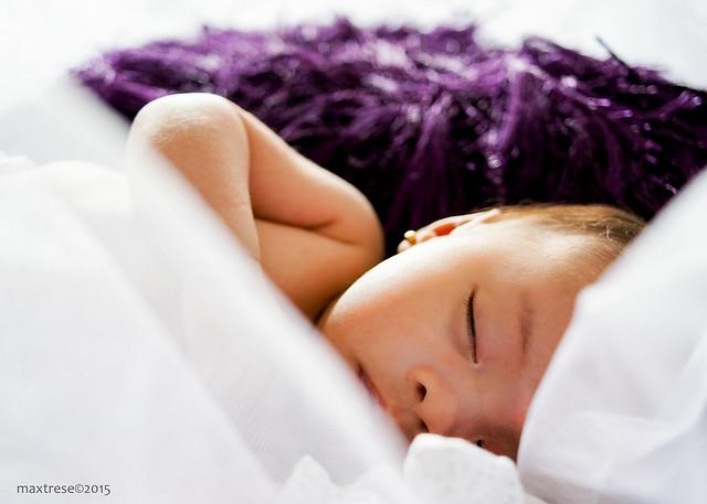 Sleeping baby yuna