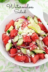 Watermelon Salad cinnamonspiceandeverythingnice.co…