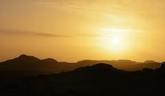Sunset over Mull