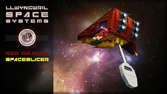 Llwyngrwil Space Systems | Red Dragon Spaceslicer