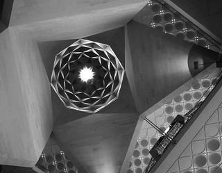 Interiors of The museum of Islamic art at Doha   121004-3819-jikatu