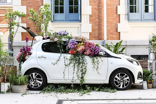 Peugeot 108 Flower Market by S Moda, visual