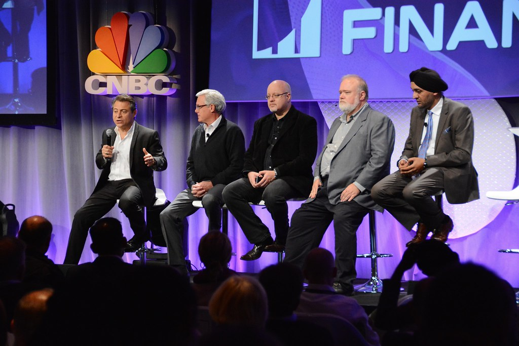 "CNBC's the Disruptors, Bob Pisani, Editor, CNBC ""On-Air-Stocks""; Hardeep Walia, Founder & CEO Motif Investing;  Bill Harris, CEO, Personal Capital...Exponential Finance 2015 hosted by Singularity University"