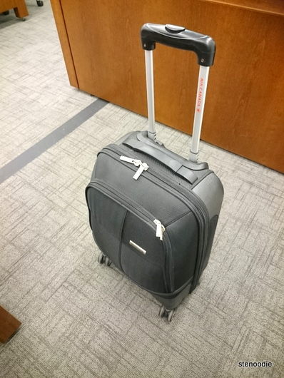 Air Canada four-wheel luggage roller
