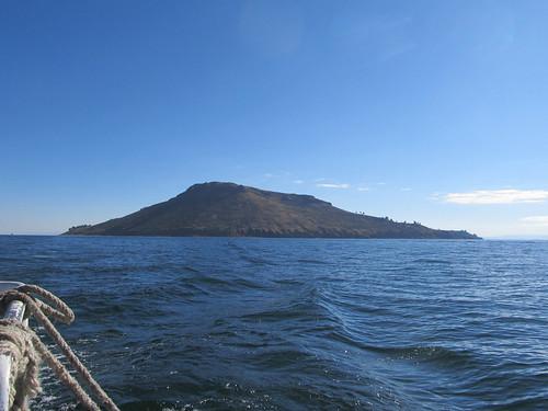 Lac Titicaca: l'île d'Amantani. Adios!