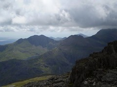 Looking back over to the Snowdon Horseshoe Image