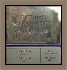 Museum Latvia Riga War