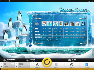 Penguin Splash Slots Payout