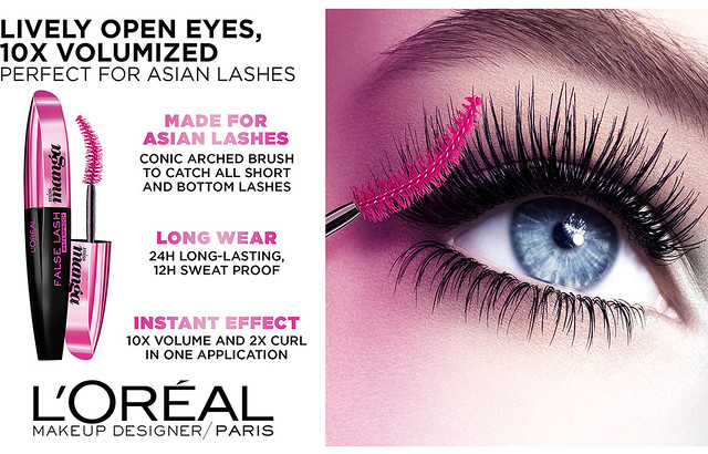 L'Oreal Miss Manga False Lash Waterproof Mascara
