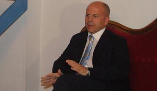 Il sindaco di Polignano, Domenico Vitto