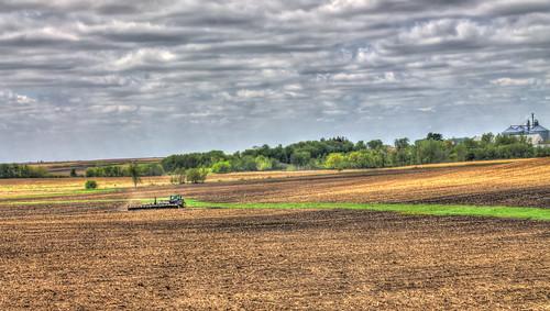 county tractor john howard farming labs planting deere topaz seedtimeandharvest