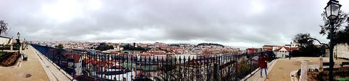 Miradouro de Sao Pedro de Alcantara. Lisbon. Portugal