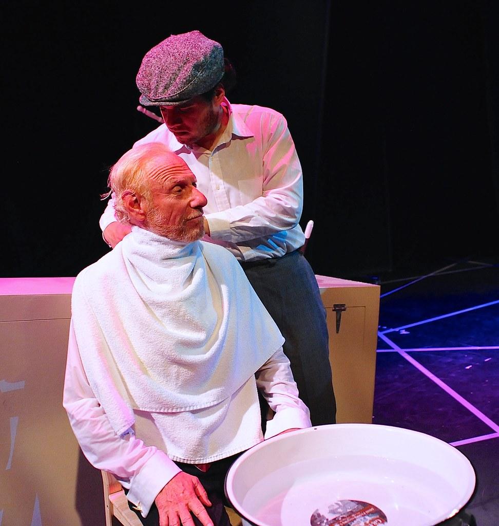 <p>Ed Klein as Gentelman and Marlowe Vilchez as Vic<br /> <br /> Photo by Valentine Radev</p>