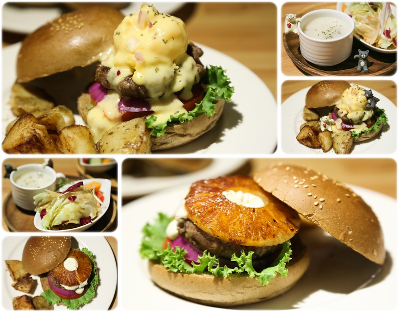 Pond Burger Cafe.Pond BurgerCafe胖漢堡咖啡.PondBurger食記.Pond Burger地址.Pond Burger營業時間.Pond Burger捷運交通