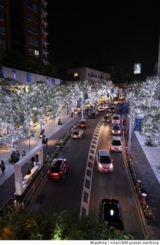 日本東京 東京夜景 六本木之丘 六本木Hills 六本木夜景 Tokyo city view 六本木大道 東京聖誕點燈 2014東京點燈12