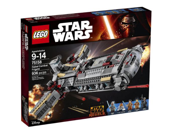 LEGO Star Wars set 2016: 75158 - Rebel Combat Frigate