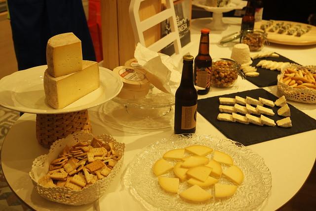 Cata de quesos y cerveza