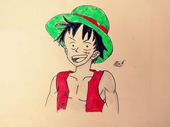 Luffy by zed