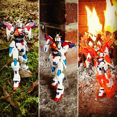 #try #burning #gundam finished 😁 Funny to play with it xD  #gunpla #gundambuildfighterstry #tryburninggundam #bandai #toys