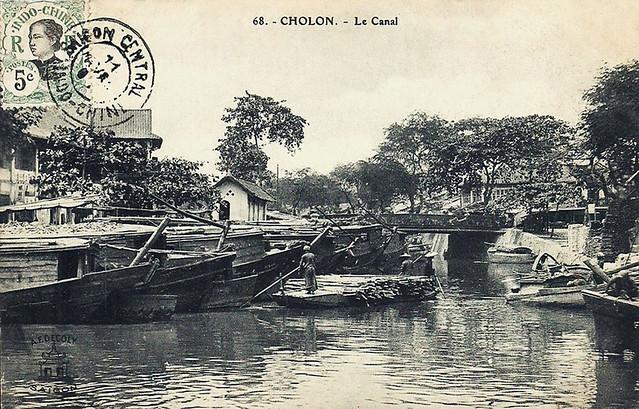 CHOLON - Le Canal - Cầu Đường tại vị trí vòng xoay trước Bưu điện Cholon