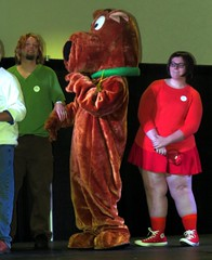 #Scooby-Doo at #HorrorHound but didn't win.