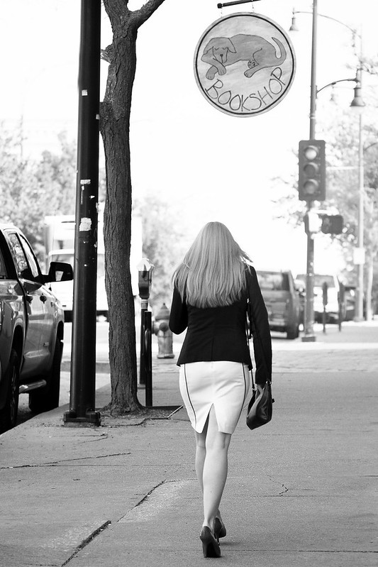 Dressed for success 42 bw