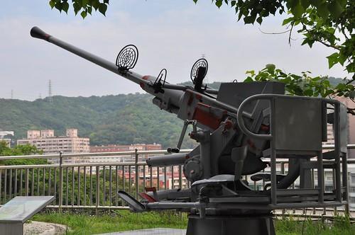 新北市武器公園-MK3型40公釐單管炮