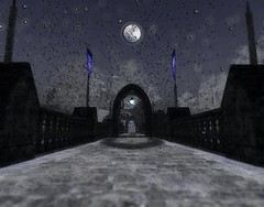 Entrance to winter wonderland