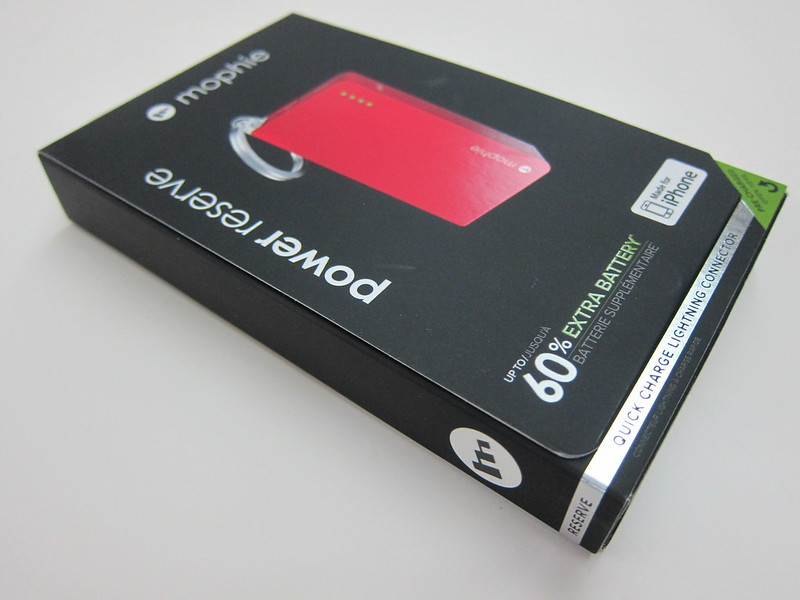 Mophie Power Reserve - Box