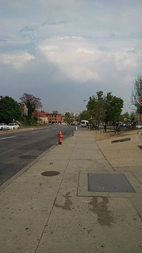 #FreddieGray #BaltimoreUprising #BlackLivesMatter Pennsylvania Avenue one week after it was rocked by violent protests.