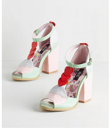 cupcake heels modcloth