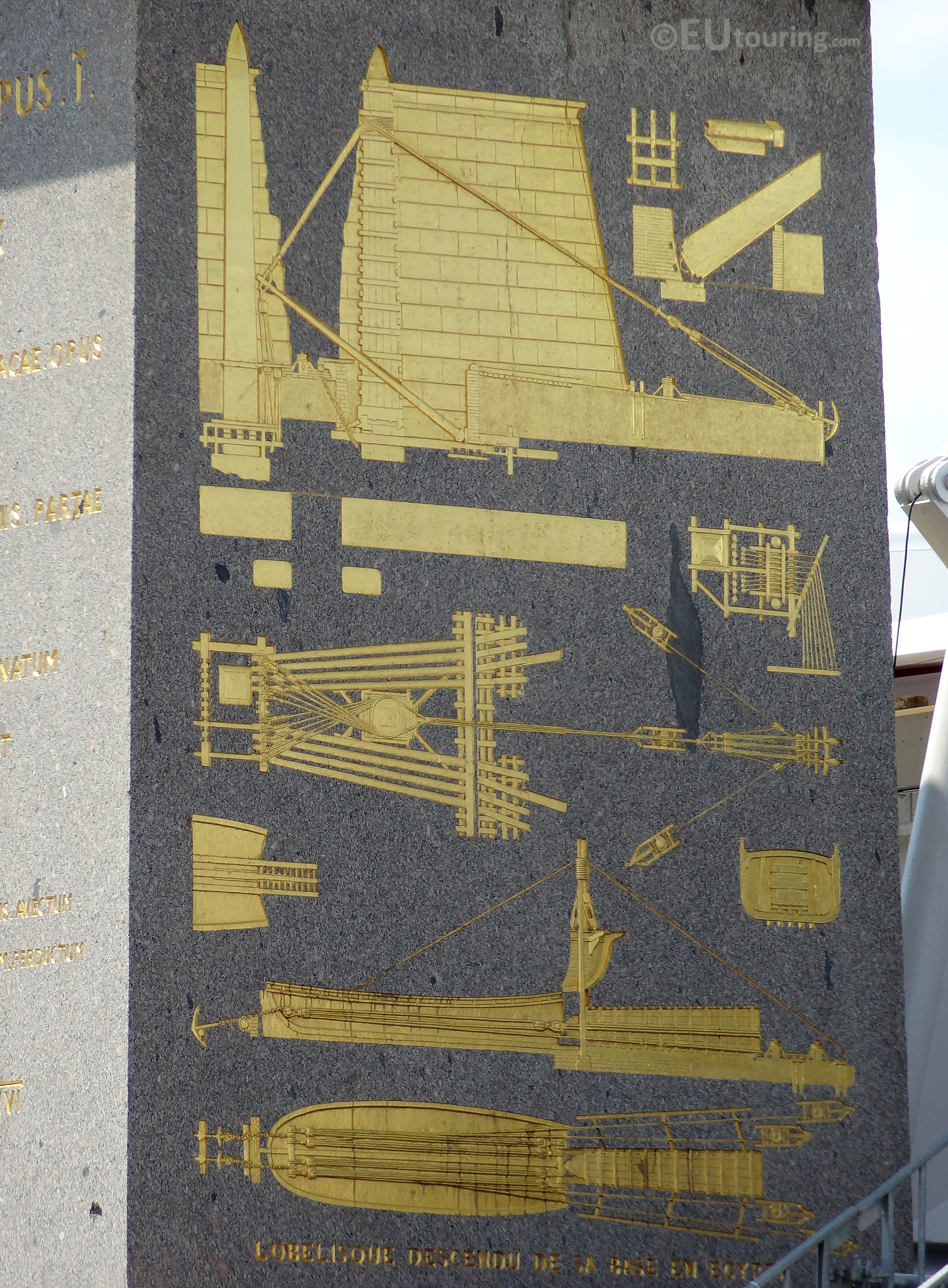 Details of the Luxor Obelisk