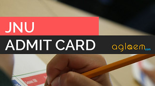 JNUEE Admit Card - Download Hall Ticket Here