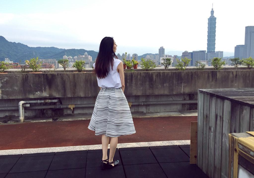 【穿搭】男人婆初入女人國的叛逆法式浪漫圓裙