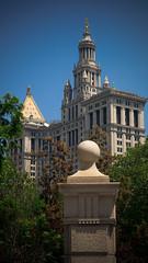 Municipal Building, seen from City Hall Park, Lower Manhattan