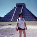 Betty at the Pyramid of Kukulcan por BarryFackler