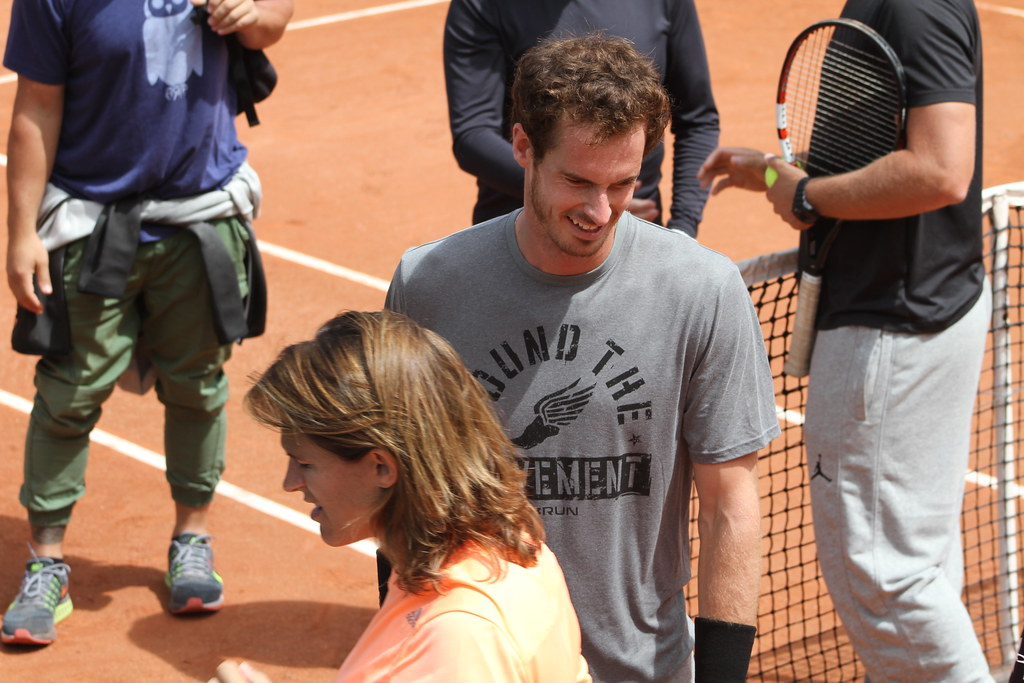 Mauresmo and Murray