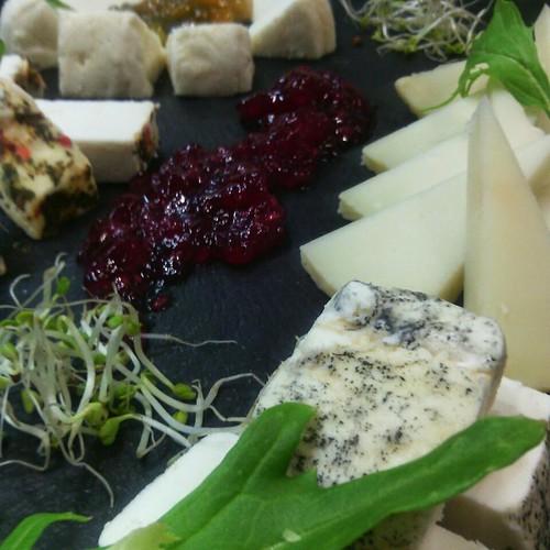 Tabla de queso de zuheros en Bujalance. Casa patricio.