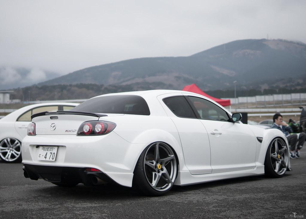 RX8 on 458 Wheels