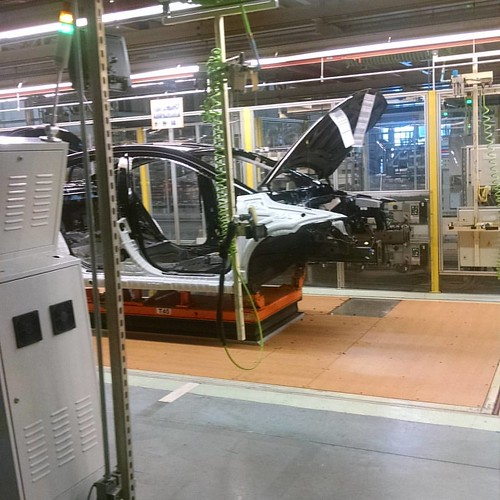 Making @Hyundaiusa #elantraeco cars for America